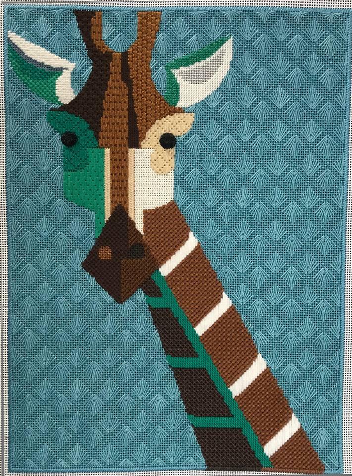Giraffe by Herta Hense